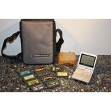 Gameboy Advance Sp Ags 001 (sin Cargador) - Juegos - Bolso