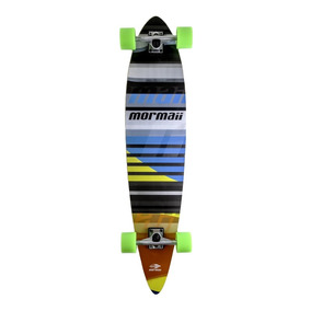 Skate Longboard Breeze Abec-7 Colorido Mormaii