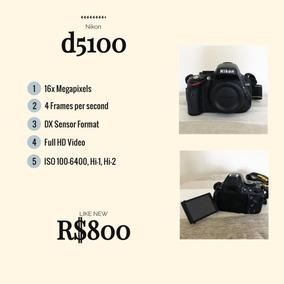 Nikon D5100 Corpo ** Oportunidade **