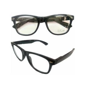 2b753acf69e76 Oculos Armação Lente Unisex Preto Acetato
