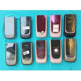 Lote Com 10 Celulares Nokia 7020 Flip (leia A Descrição)