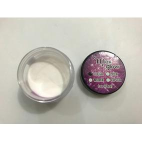 Polvo Acrilico Cover, White, Clear Max Glow 1 Onza Manicure