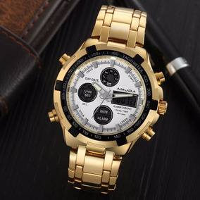 924c94324be Relogio Badace Quartz Brinde Surpresa De Luxo - Relógios De Pulso no ...