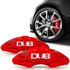 Capa Pinça Freio Vermelha Par Universal Tuning Esportiva Dub