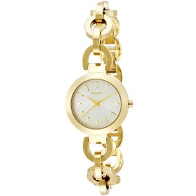 Relógio Luxo Feminino Dkny Donna Karan Dourado Nf Ny2134/4dn