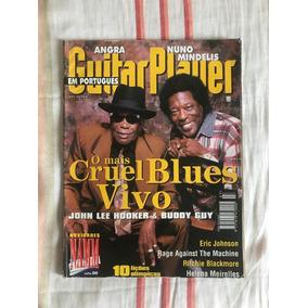 Revista Guitar Player N°7 Buddy Guy E J.l. Hooker Julho 1996