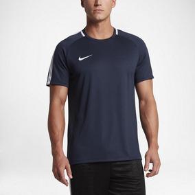 6b2c6b68ab Camiseta Nike Dry Acdmy Top Ss Azul Marinho