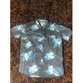 calidad y cantidad asegurada original de costura caliente nuevo baratas Camisa Hawaiana Quiksilver - Camisas, Polos y Blusas Hombre ...
