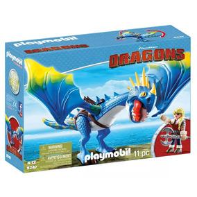 Playmobil - Como Treinar Seu Dragão - Astrid E Tempestade -