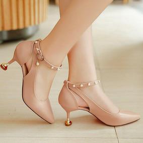 Sandalias Altas Con Tacon Delgado - Zapatos en Mercado Libre Colombia 028a9d9e82c2