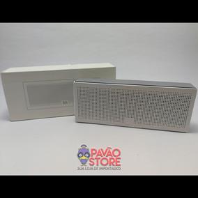 Caixa De Som Branca Xiaomi Bluetooth Mi Speaker Original