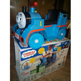 Juguete Tren Thomas Electrico Fisher Price Pista De Rieles