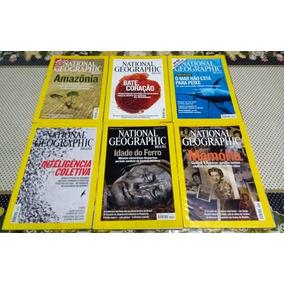 Revista National Geographic - Lote Com 8 Edições (2007)