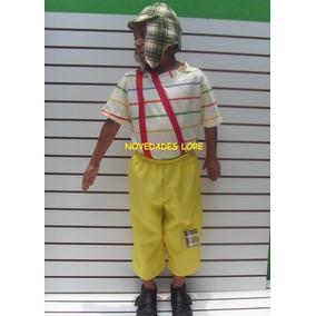 Disfraz Chavo Del 8 Animado Niños Kiko Popis Ñoño Chapulin 98de18fc9aa
