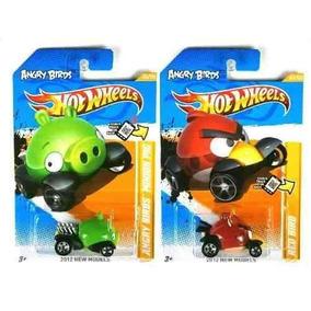 Hot Wheels Angry Bird Minion + Passarinho Vermelho