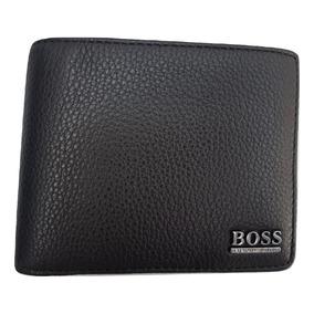 Hugo Boss Cartera Hombre Piel En Caja 100% Original