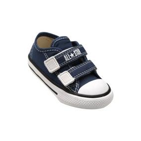 Tênis Infantil Converse All Star Lona 2 Velcros