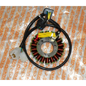 Estator Mais Bobina De Pulso Sundowh Stx/motard 200 Original