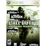Juego Fisico Call Of Duty 4 Modern War Xbox 360 Somos Tienda