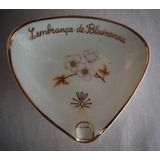 Cinzeiro Porcelana Blumenau Flor Santa Catarina Dec 50