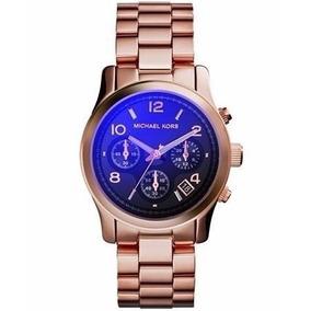Relogio Michael Kors Mk5940 Rose Azul Feminino Completo - Relógios ... a795bc0ab9