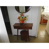 Dressoire Clásico Con Espejo Y Banqueta El Toque Vintage