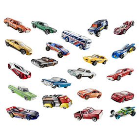 Carrinhos Hot Wheels Modelos Sortidos 12 Unidades