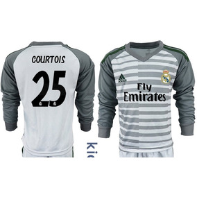 ebfa175dc6338 Formidable Jersey Real Madrid Portero Niño 2019 Courtois 25