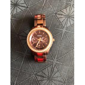 4d3a2cd35c0 Relogio Fossil Feminino Com Strass - Relógios De Pulso no Mercado ...