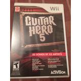 Guitar Hero 5 Para Wii