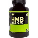 Hmb Optimum Nutrition 1000g - 90 Caps Versão E U A Val 06/20
