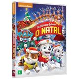 Paw Patrol Os Filhotes Salvam O Natal - Dvd / Infantil
