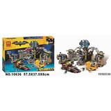 Tipo Lego 70909 Intrusos En La Baticueva Batman Perco