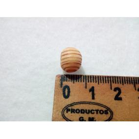 Bolas De Madera Natural 7mm Aprox. Bolsa 50 Piezas
