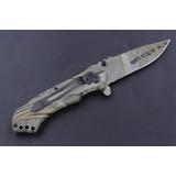 Canivete Tático 3cr13 Ideal Para Sobrevivência Bushcraft Edc