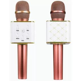 Micrófono Karaoke Bluetooth Inalámbrico Parlante Usb Q7