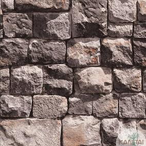 610fa9b26 Papel De Parede Efeito 3d Real Alto Relevo Neonature 2 Pedra