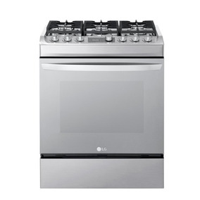 Cocina A Gas Lg Digital Automatica Capacidad 30 Rsg313m