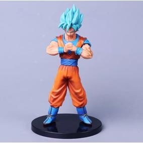Dragon Ball Super Deus Goku Azul Colecionador