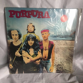 Purpura Disco Vinilo Rock Nacional