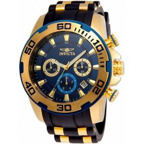 Invicta Pro Diver 22341 - Ouro 18k, Resistente À Água Até 10