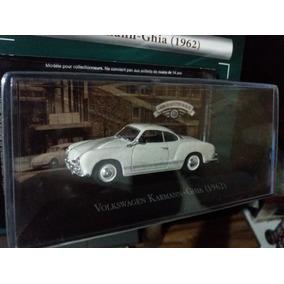 Volkswagen Karmann Ghia Branco Escala 1:43 + Fascículo 40,00