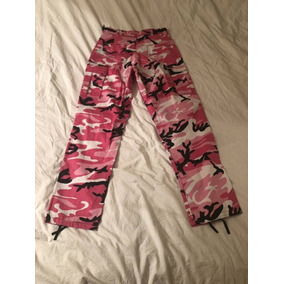 Pantalones De Camuflaje Rosa
