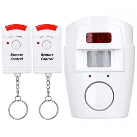 Ir Motion Sensitive Home/office Security Alarm W/ Remote - W
