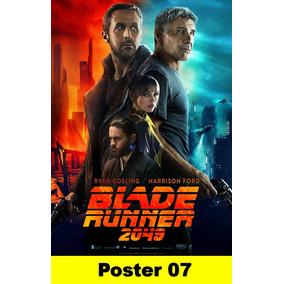 Poster Cartaz Blade Runner 2049 30x40 #007