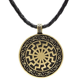 ea391dcb1e84 Ttkp Black Sun Viking Colgante Collar De Viking Collar De Vi
