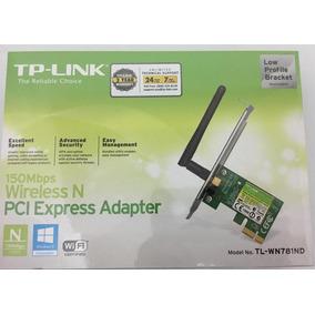 Tarjeta Wifi Tp-link Pci Express 150 Mbps Tl-wn781nd