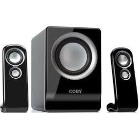 Conjunto Coby De Caixas Acústicas Csmp80 2.1 Canais