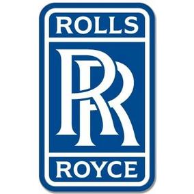 Rolls-royce Británica Estilo Del Coche Del Emblema De La Et