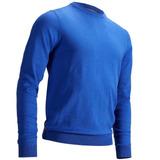 Jersey De Golf Cuello Redondo Hombre Azul Eléctrico 2a210cf8628c